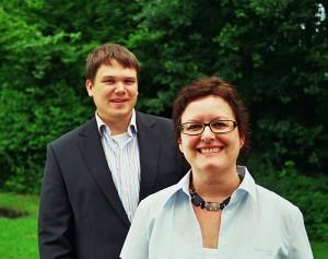 """Ingo Friederichs und Rita Malzahn stecken hinter """"TestMyBiz"""" und sind in Bergisch Gladbach ansässig."""