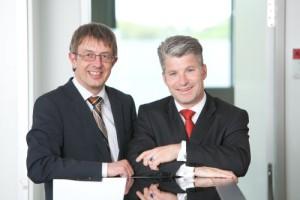Trianel Geschäftsführung: Dr. Jörg Vogt (links), Sven Becker (rechts)