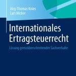 Bild: Coverabbildung des neuen Fachbuchs Internationales Ertragsteuerrecht von Springer Gabler | © Springer Quelle: Offenes-Presseportal.de