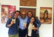 v.l. Patrick Elkuch, Jochen Schweizer, Philippe Nissl und Sarah Nissl. Foto: jochen-schweizer.de