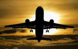 Der Flughafen Frankfurt ist Zielflughafen für viele In- und Auslandsflüge.