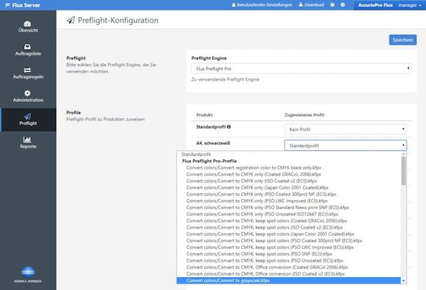 Flux Preflight Pro: Automatisierte Anwendung der Preflight-Profile