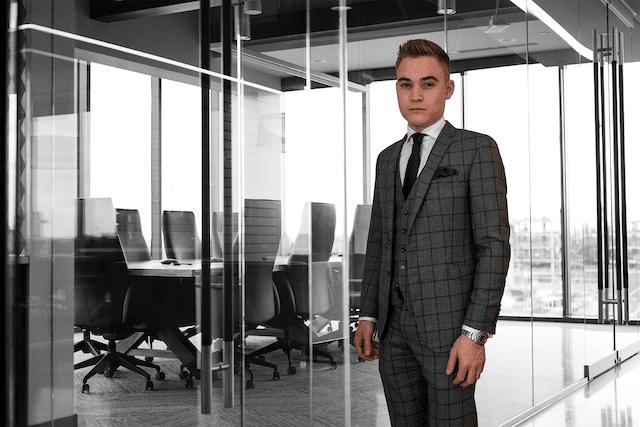 Der junge Unternehmer Lukas Lehner hat mit seiner Geschäftsidee großen Erfolg.